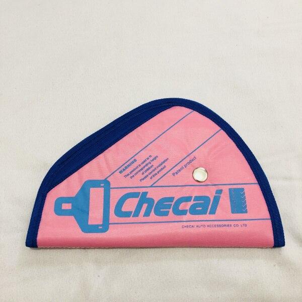 4 цвета Детский плечевой ремень регулятор ремня безопасности автоматический регулятор ремня безопасности Детские Ремни безопасности фиксатор нейлоновые ремни безопасности Чехол - Цвет: pink