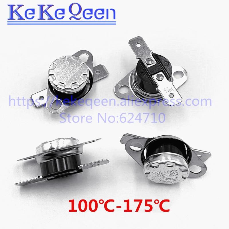 KSD301 250 В 10A 100 110 115 120 125 130 145 150 155 160 185 190 195 градусов Цельсия термостат терморегулятор