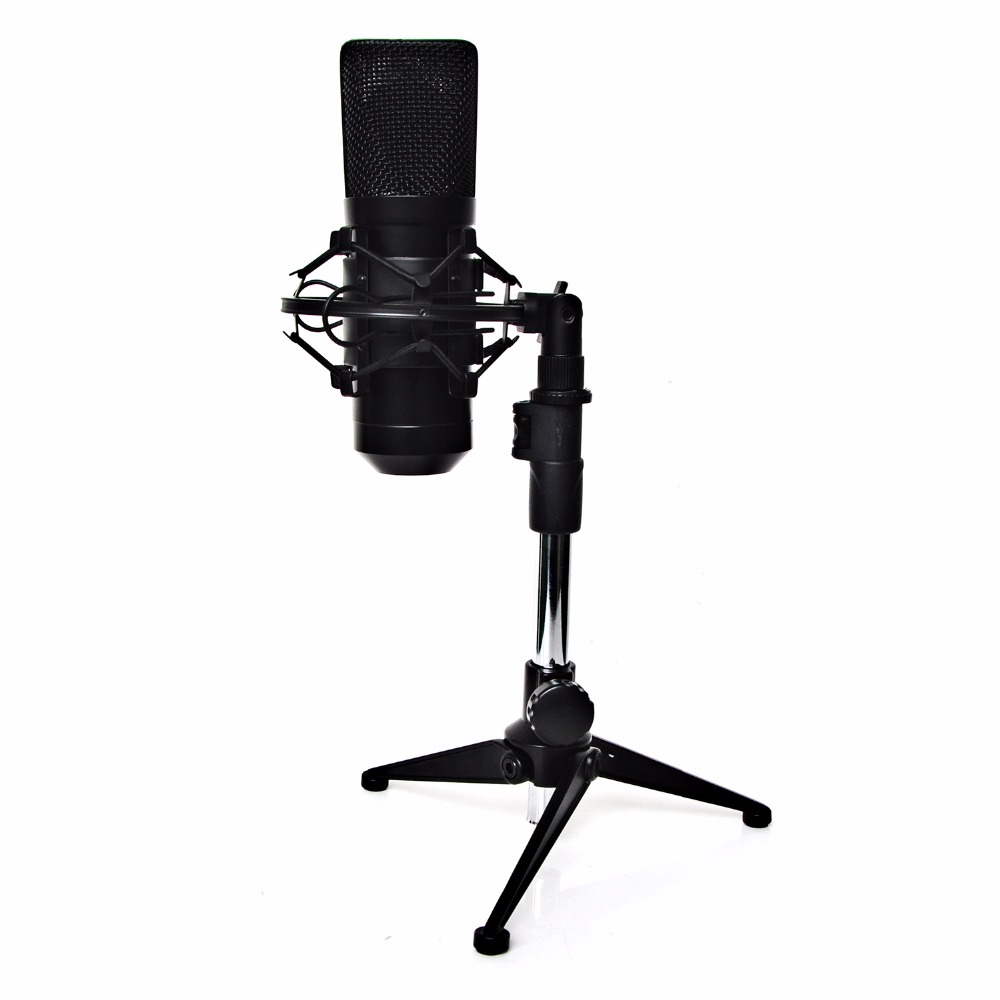 все цены на FREEBOSS FB-W02 Professional Wired Condenser Microphone Recording Microphone USB Computer Microphone with Table Microphone Stand