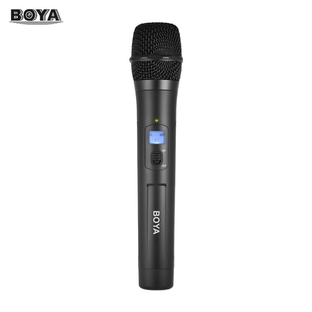 BOYA BY-WHM8 UHF Professional Wireless Microphone Karaoke System Microphone for Karaoke for Interview Meeting Audio Recording high end uhf 8x50 channel goose neck desk wireless conference microphones system for meeting room