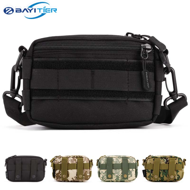 Tactical Molle Hiking Fishing Sports Waterproof Waist Bag For Xiaomi Fanny Pack Hunting Waist Bags Tactical