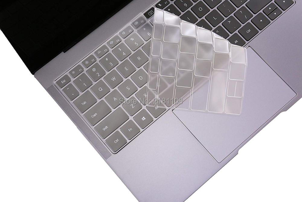 Ultra Thin Keyboard Skin Cover Protector for Huawei MateBook X Pro TPU