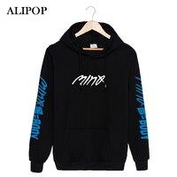 ALIPOP KPOP Coreano Moda VINCITORE MINO Min Ho SOLO CORPO Album Cotone Felpe Con Cappello Vestiti Pullover Felpa PT215
