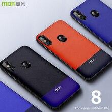 For Xiaomi mi8 case cover MOFI mi 8 lite leather Back Cover Case for xiaomi Full Nappa business