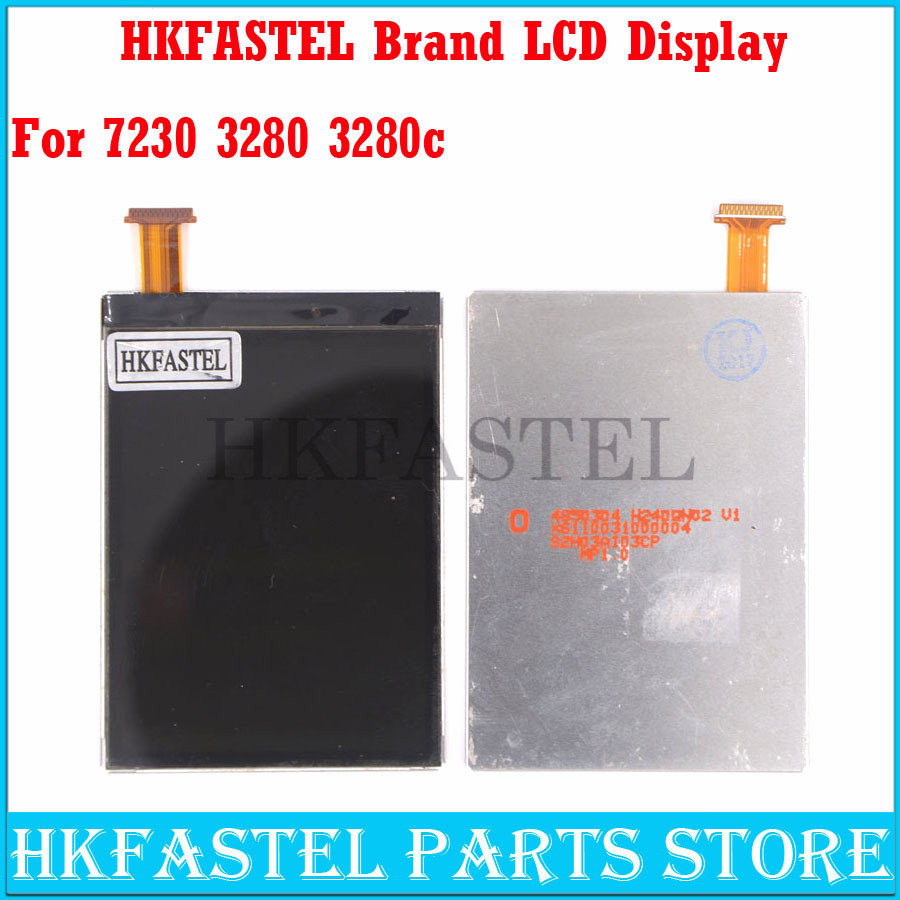 HKFASTEL New Original Cell Phone LCD For Nokia 3208 3208c 7230 Mobile Phone LCD Screen Digitizer Display + Free Tools