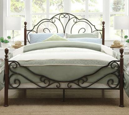 buy european style metal single iron bed