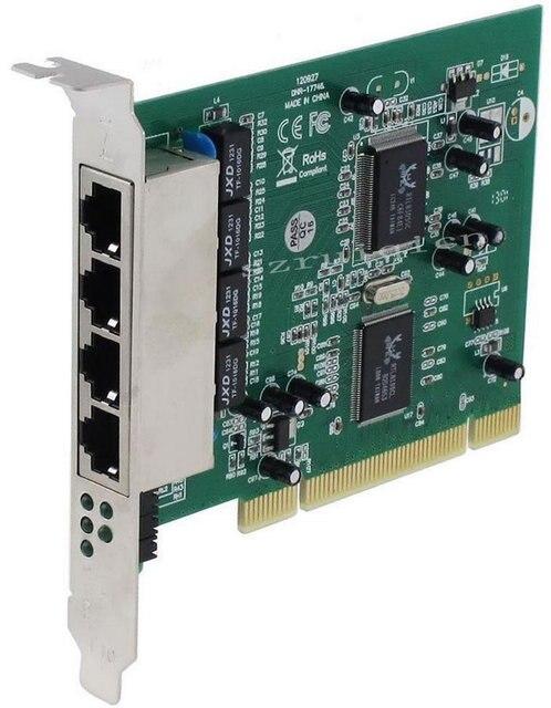 pci 32bit quad port lan 4 port 10mbps 100mbps ethernet rj45 network rh aliexpress com RJ45 Ethernet Jack RJ45 Ethernet Cable