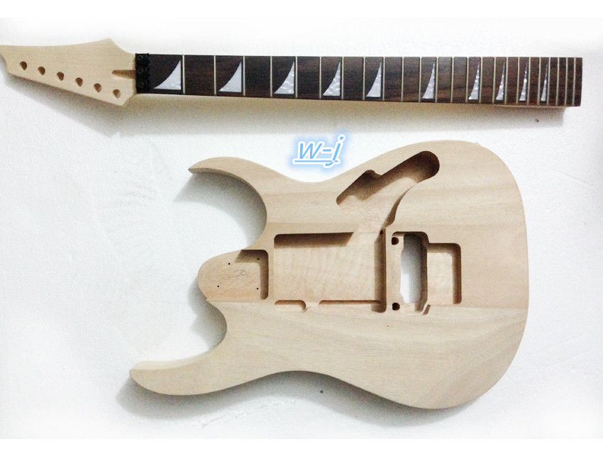 electric guitar neck inlay 24 fret and body replacement parts in guitar parts accessories from. Black Bedroom Furniture Sets. Home Design Ideas