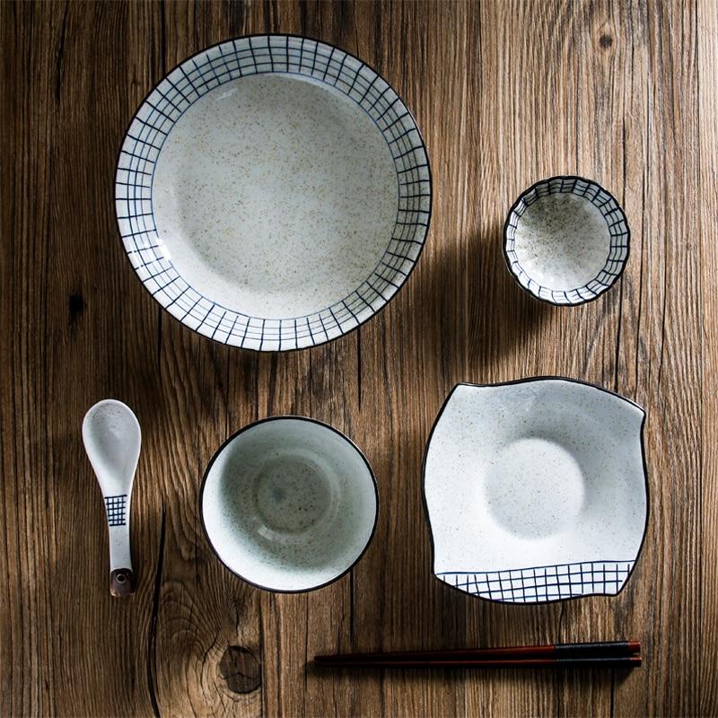Japanese Ceramic Tableware Set China Dinner Set Porcelain Dinnerware Set Kitchen Plate Dishes for Restaurant White Porcelain-in Dinnerware Sets from Home ... & Japanese Ceramic Tableware Set China Dinner Set Porcelain Dinnerware ...