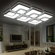 black modern led ceiling lights luminaire home lighting plafondlamp lamparas de techo living room bedroom acrylic kitchen lamp