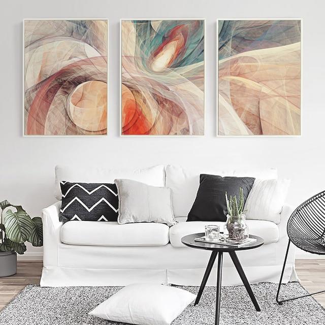 Bianche mur feu couverture abstrait courbe graphique for Peinture graphique sur mur