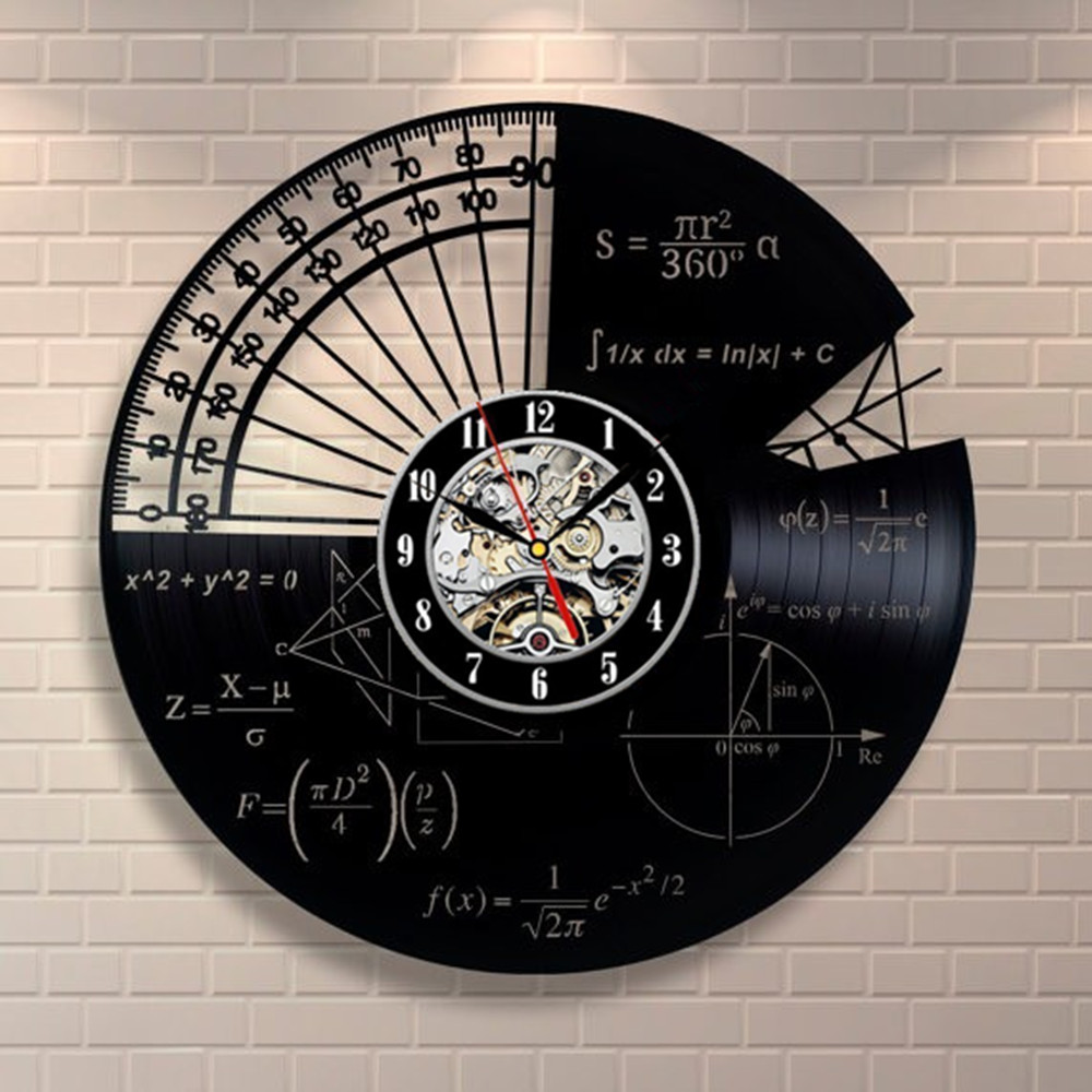 compare prices on math wall clocks online shopping buy low price