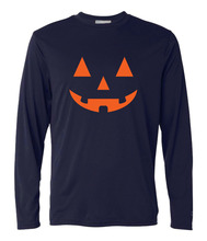 Novelty JACK O' LANTERN PUMPKIN Halloween printed T-Shirt 2017 men harajuku fitness long sleeve brand clothing hip-hop camisetas