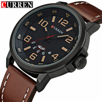 CURREN Mens Watches Top Brand Luxury Men Sports Watches Fashion Casual Quartz Watch Men Military Wrist