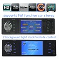 Автомобиль Аудио Стерео MP4 Плеер AUX-IN музыки FM/USB/SD 1 Din/дистанционного управления Автомобилей Радио Аудио авто