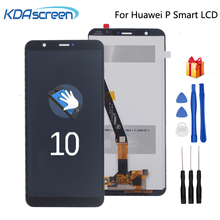 Original Display For Huawei P Smart LCD Touch Screen Digitizer Assembly 5.65  For Huawei p smart LX1 L21 L22 Screen LCD Display 6 21original display for huawei p smart 2019 lcd display screen touch digitizer assembly p smart 2019 display repair parts tool