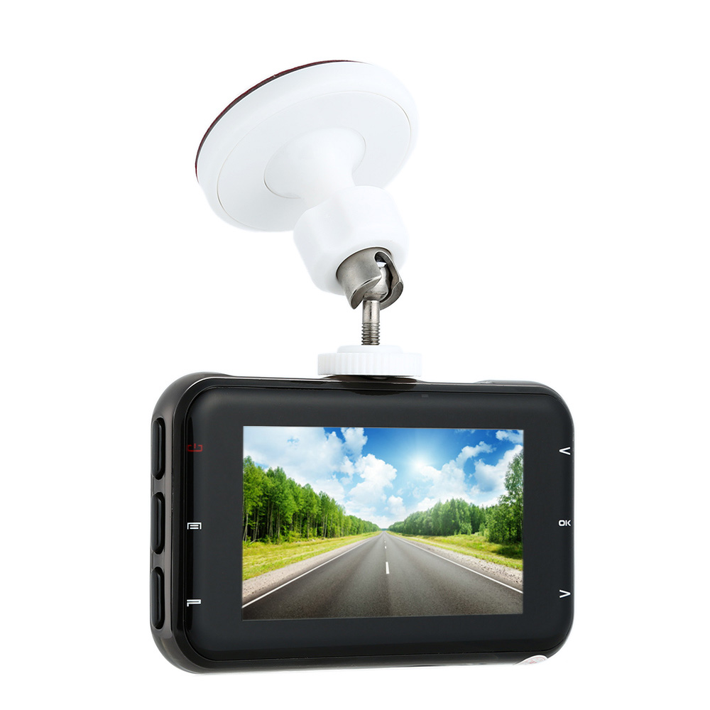1080P FHD 3.0 TFT Car DVR Camerar Dash Camcorder Vehicle Recorder 6G 180 Degree Angle H.264 MOV G-sensor Motion Detection WDR цена