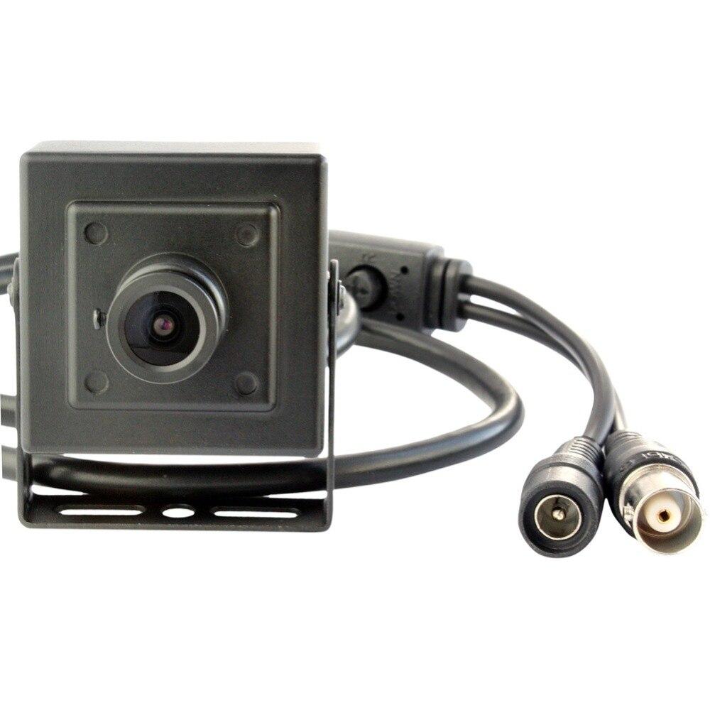 elp cmos 720p hd 1 0mp cctv ahd camera security video analog mini ahd camera with black metal. Black Bedroom Furniture Sets. Home Design Ideas