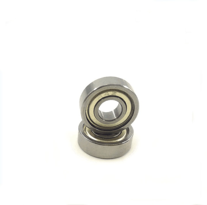 "500pcs/lot R4ZZ R4Z R4 ZZ Metal shielded 1/4"" x 5/8"" x 0.196"" inch ball bearing Deep Groove Ball bearing 6.35x15.875x4.978 mm-in Shafts from Home Improvement    1"