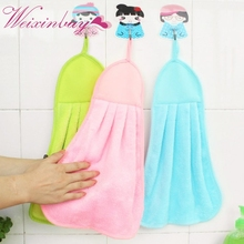 Cute Cartoon Baby Wipe Sweat Hung Towel Towel Super Soft Coral Fleece Kid Child Towel(China)