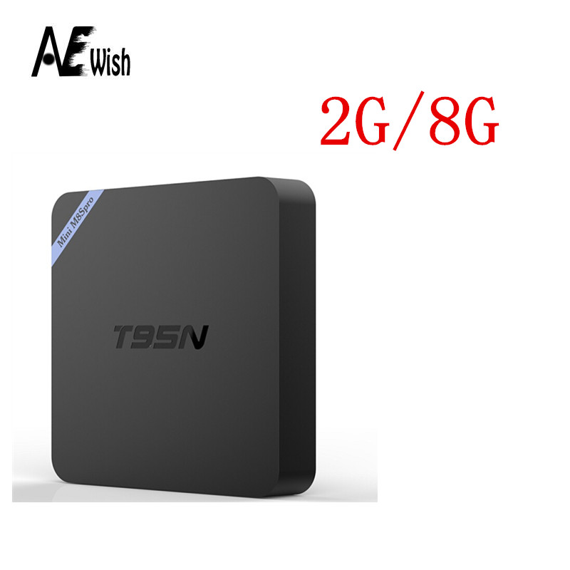 T95N Mini M8Spro font b TV b font BOX 2GB 8GB Amlogic S905 Quad Core Android