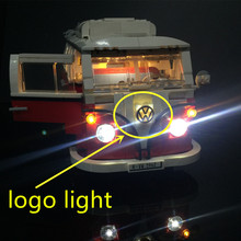 Upgraded Led Light Kit For Creator Volkswagen T1 Camper Van Light Set Compatible With 10220 And 21001 (Not Include Model)