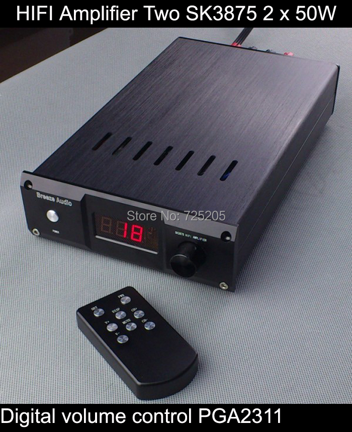Remote Volume Control : Aliexpress buy hifi amplifier stereotwo sk with