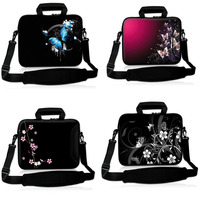 Women Laptop Sleeve Soft Messenger Shoulder Bag Case Handbag Carry bag Pouch Cover Protector for 13 15 10 17 HP Dell Acer PC