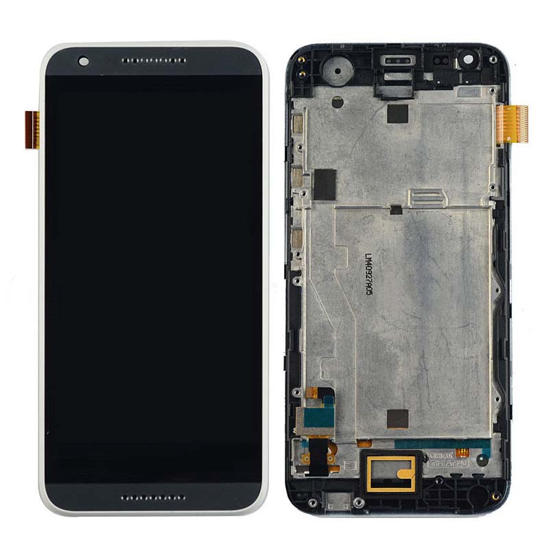 +Frame Black LCD Display + Touch Screen Digitizer Assembly Replacement For HTC DESIRE 620 620G Free Shipping lcd screen display touch panel digitizer with frame for htc one m9 black or silver or gold free shipping
