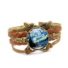 FREE Van Gogh Starry Night Bracelet