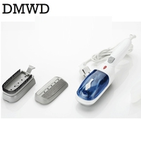 DMWD Portable Handheld Clothes Ironing Machine Electric Garment Steamer Mini Travel Hanging Steaming Iron Cloth Brush
