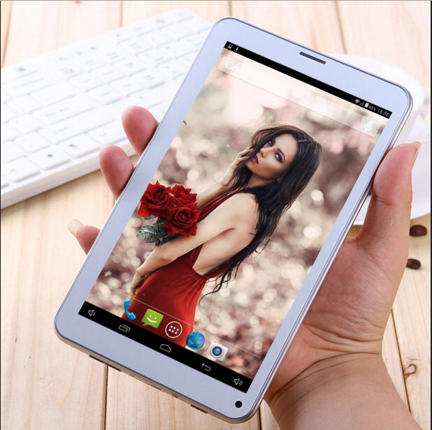 7inch 86V 2G Phone Call Tablet Pc 4GB Good For Kids AllWinner A33 Quad Core Android 4.4 Bluetooth Wifi