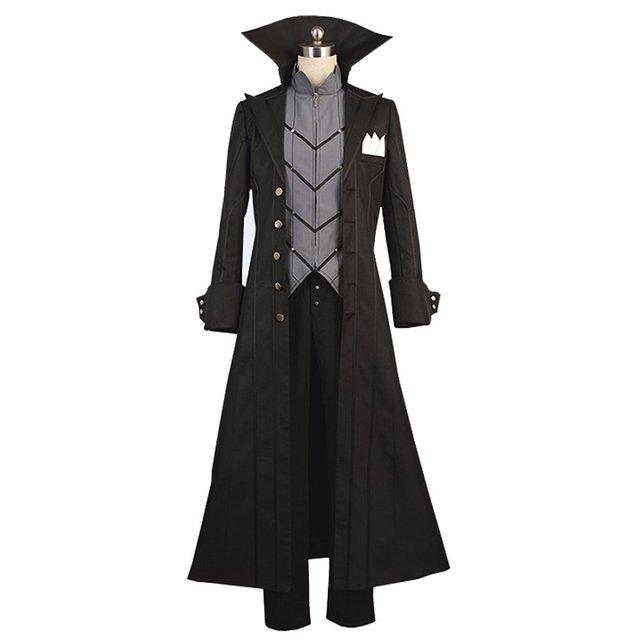 persona 5 m nner poncho umhang mantel cape uniform cosplay. Black Bedroom Furniture Sets. Home Design Ideas
