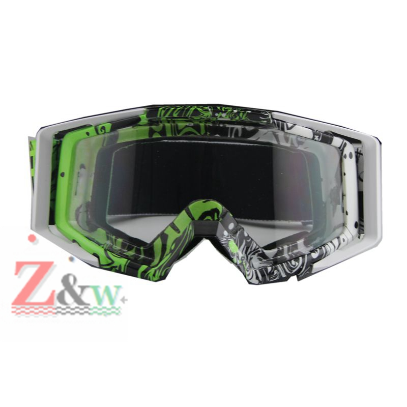 Prix pour Lentille claire Grand Cadre Ski Snowboard lunettes Ski Dirt Bike Moto Motocross anti-Poussière Lunettes Coupe-Vent Lunettes Lunettes