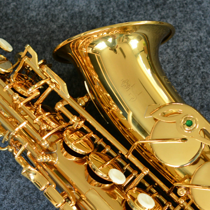Copy Germany (JK)Keilwerth ST90 Gold Lacquer Alto Saxophone Eb Wind Brass Instrument Sax Alto Western Instruments Sax free shipping france henri selmer saxophone alto 802 musical instrument alto sax gold curved saxfone mouthpiece electrophoresis