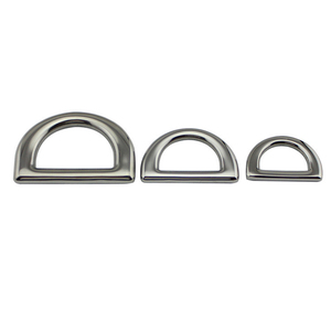 Image 5 - 6mm/8mm/10mm Stainless Steel D Ring Deck Folding Pad Eye Lashing Tie Down Cleat for Marine Yacht Boat Accessories