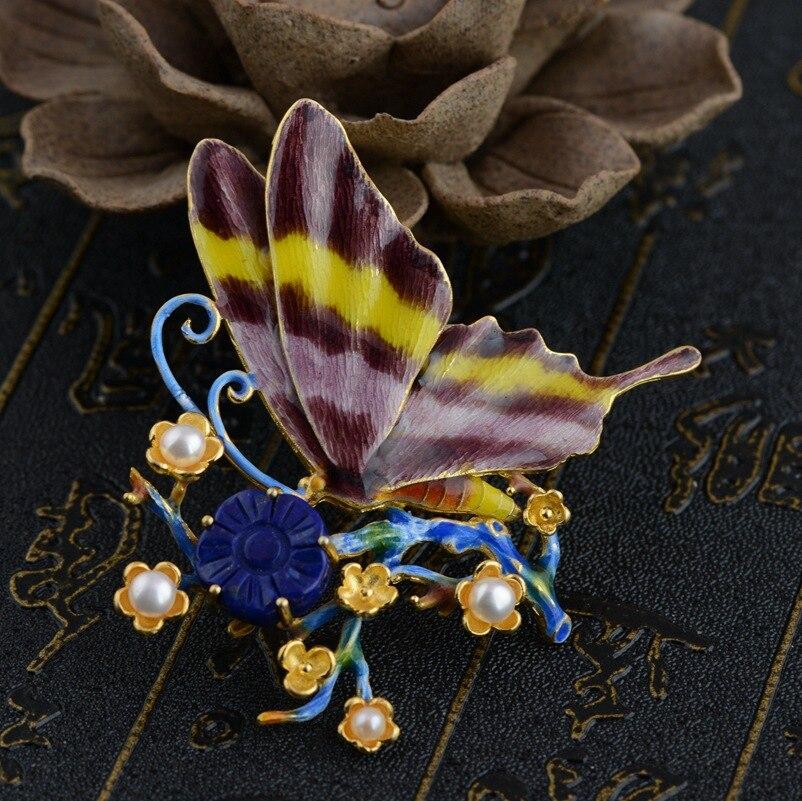 Cerf roi Lapis pendentif bijoux en gros S925 en argent Sterling Shaolan femme nouvelle technologie premiers adopteurs