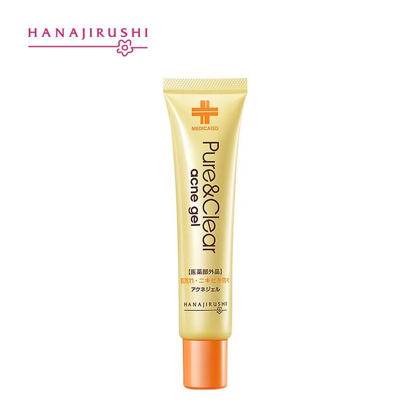 O tratamento da acne de hanajirushi remove a pele profunda da umidade da anti-acne do controle do óleo puro e claro do gel da acne da espinha da acne 25g