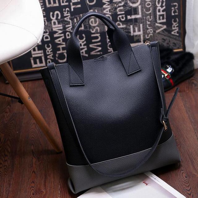 5edddc9f2aff7 Ledertaschen Handtaschen Frauen Berühmte Marken Große Casual Frauen Taschen  Stamm Tote Spanische Marke Umhängetasche Damen große