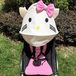 Image 2 - Baby Stroller Accessories for Yoya Yoyo Babyzen Sun Shade Cover +Seat Infant Pram Cushion Pad Sunshade Canopy Buggies for Babies