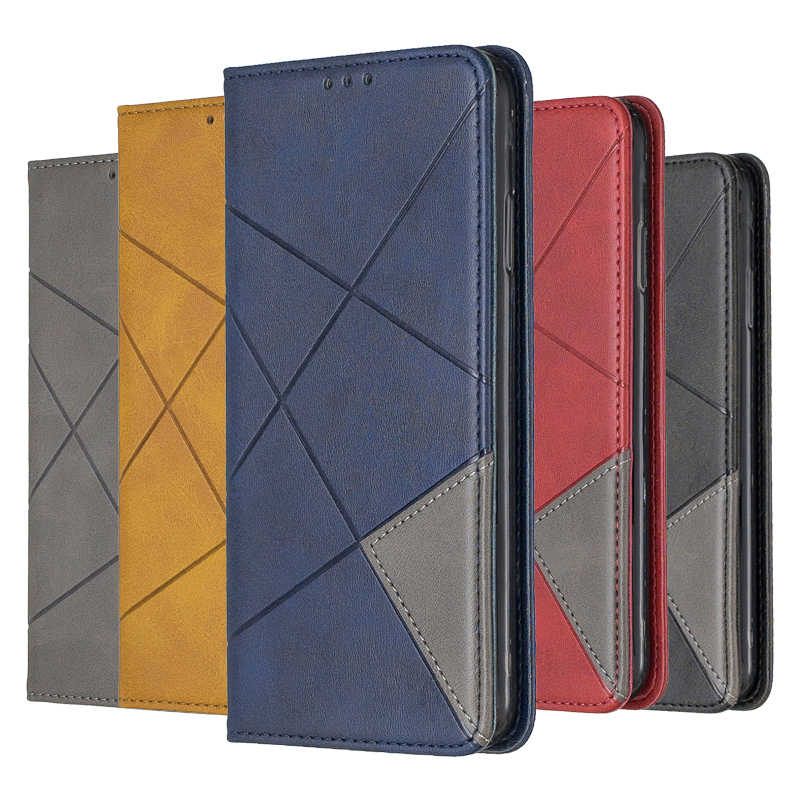 Leather Case Wallet Cover For Samsung Galaxy A50 A70 A40 A30 A20 A10 A20E A10E S10e S10 S9 J6 J4 Plus A7 2018 Flip Stand Case