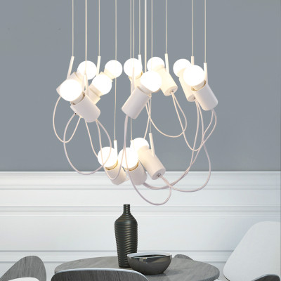 lovely bird light kitchen fixtures chandelier nordic suspension lighting e27 bulb lamp for living room/dinning table 100V/220V 100 foolproof suppers my kitchen table
