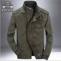 Fashion New Men's Jacket 3XL cotton Plus size Loose Military Men New 2017 Spring mens Casual Coats warm Military Jackets