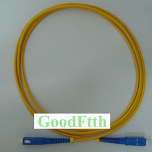 Fiber Patch Cord Jumper Cable SC-SC UPC SC/UPC-SC/UPC SM Simplex GoodFtth 100-500m