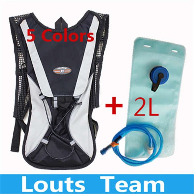 Free Shipping Camelback Water Bag Tank Backpack Hiking Motorcross Riding Backpack with 2L Water Bag Hydration Bladder Dropship