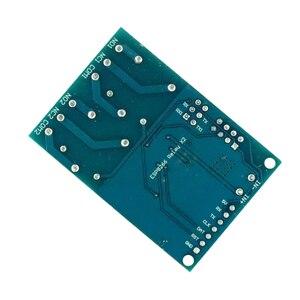 Image 4 - 5 V WIFI ממסר מודול ESP8266 IOT APP מרחוק בקר 2 ערוץ לבית חכם נייד טלפון אוטומציה לוח כפולה WiFi מודול