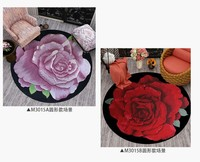 Japanese and Korean carpets Round shape Carved Door mat Custom made rugs Wool Brand carpets for Aisle Bedside 100% wool Carpets