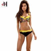 DA HAI Micro Bikini 2018 New Swimwear Women Biquini Maio Swimsuit Bikinis Zaful Swimwear Bathing Suit