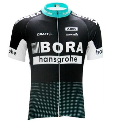 2017 Men Summer BORA Team Short Sleeve Ropa Ciclismo Maillot Bike Clothes Cycling Jersey Quick Dry Breathable Bycicle Tops