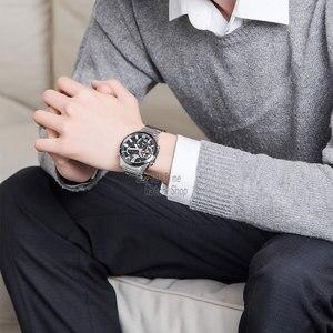 Image 4 - Casio Edifice שעון גברים יוקרה להגדיר 100 m חיוג כפול עמיד למים שעונים אוטומטיים LED שעונים הכרונוגרף שעון גברים שעון קוורץ שעון יד מרוצי מכוניות ספורט שעונים לגברים часы мужские relogio masculino reloj hombre saati